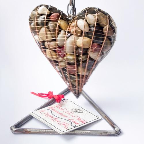 5632 Rock Solid Heart Pendulum